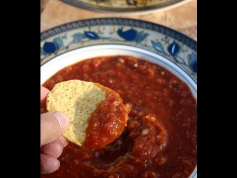 How To Make Restaurant Style Salsa - Bloopers at the end!