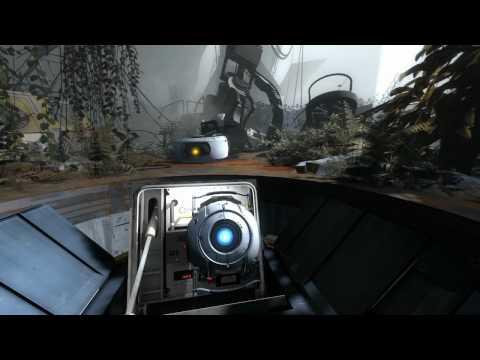 Portal 2 Stephen Merchant as Wheatley Gameplay Trailer