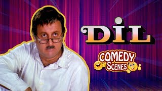 Video Best comedy scenes - Dil (1990) Movie - Aamir Khan - Madhuri Dixit - Anupam Kher MP3, 3GP, MP4, WEBM, AVI, FLV Oktober 2018