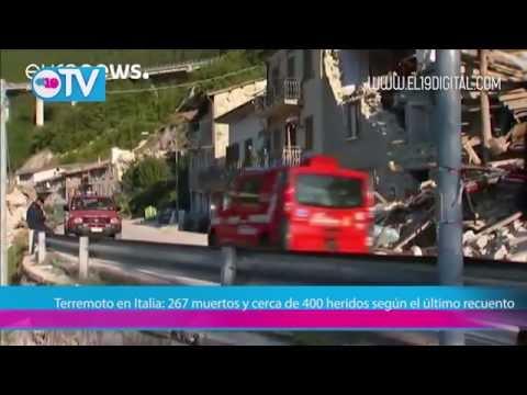Terremoto en Italia: 267 muertos y cerca de 400 heridos según el último recuento