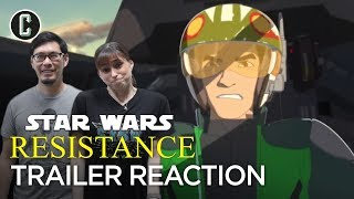 Star Wars: Resistance Trailer Reaction & Review by Collider