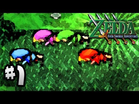 the legend of zelda four swords adventures gamecube gameplay