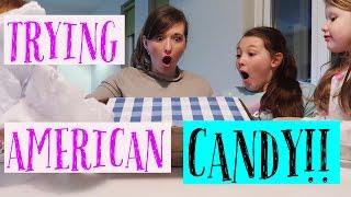 Video TRYING AMERICAN CANDY | SWAP BOX COLLAB! MP3, 3GP, MP4, WEBM, AVI, FLV September 2018
