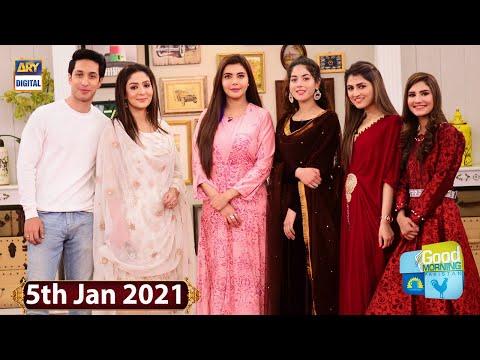 Good Morning Pakistan - Nimra Ali & Areej Mohyudin - 5th January 2021 - ARY Digital Show