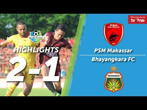 PSM Makassar vs Bhayangkara FC: 2-1 All Goals & Highlights
