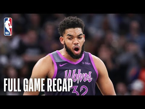 Video: ROCKETS vs TIMBERWOLVES | KAT & Teague Lead MIN | February 13, 2019
