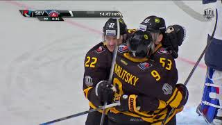 Torpedo 4 Severstal 3 SO, 16 January 2018 Highlights