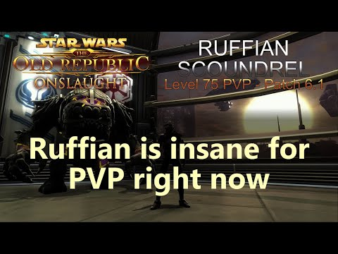 SWTOR PVP - Ruffian Scoundrel - Arena #5 - Ruffian is insane for PVP right now