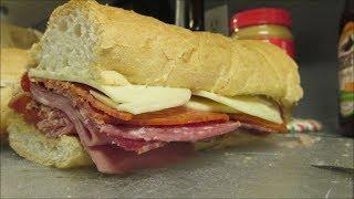 Godfather Italian sandwich by Louisiana Cajun Recipes
