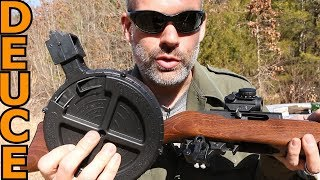 Massive Drum Mag on a Ruger 10/22 reviewed by Deuce