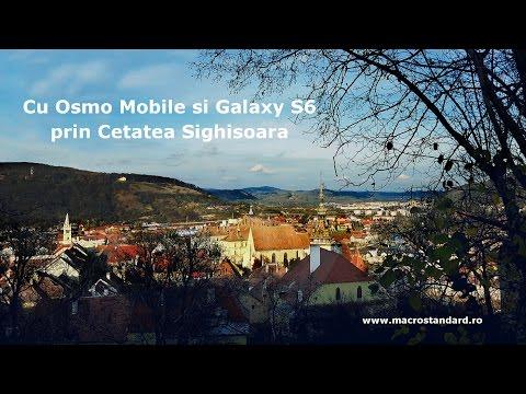 Cu DJI Osmo Mobile si Galaxy S6 prin Cetatea Sighisoara