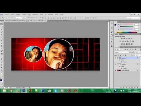Cortando imagem de forma redonda PHOTOSHOP CS6