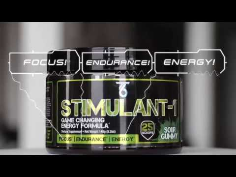 TEAM-6 Supplements: STIMULANT-1 the MOST POWERFUL PRE-WORKOUT EVER