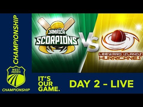 Jamaica v Leewards - Day 2 | West Indies Championship  | Friday 1st March 2019 - Thời lượng: 5 giờ.