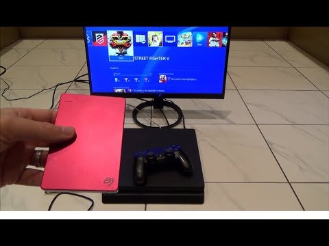 How to Increase PS4 Slim Storage using External Hard Drive