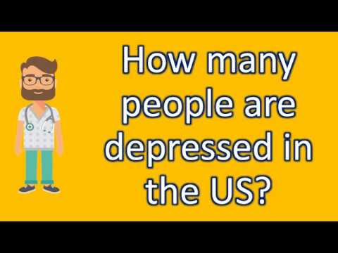 How many people are depressed in the US ? |Health NEWS