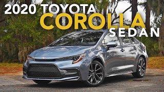 2020 Toyota Corolla Sedan Review - First Drive
