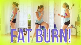 8 min At Home Cardio Workout! Swimsuit Slimdown Series - YouTube