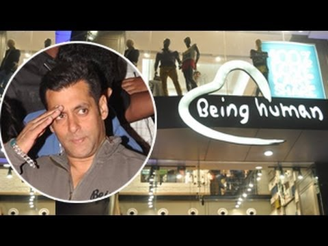 Salman Khan launches Being Human Store in MUMBAI