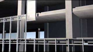 Unitised wall system
