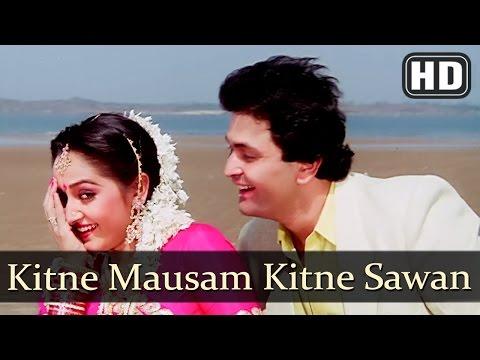Video Kitne Mausam Kitne Sawan (HD) - Ghar Ghar Ki Kahani Song - Rishi Kapoor- Jaya Prada - 80s Hindi Song download in MP3, 3GP, MP4, WEBM, AVI, FLV January 2017