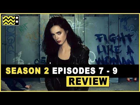 Jessica Jones Season 2 Episodes 7 - 9 Review & Reaction | AfterBuzz TV