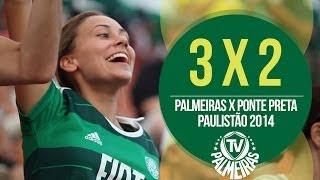 O Verdão segue firme na busca pela melhor campanha do Paulistão. Confira os 3 gols que deram a vitória ao Palmeiras neste...