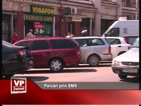 Parcări prin SMS