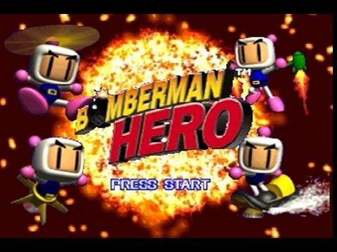 bomberman hero nintendo 64 walkthrough