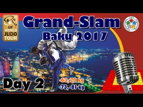 Judo Grand-Slam Baku 2017: Day 2