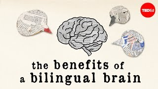 Download Youtube: The benefits of a bilingual brain - Mia Nacamulli