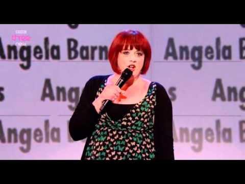 Angela Barnes on Russell Howard's good news