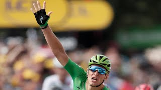 The German sprinter Marcel Kittel continued his fine record in the 2017 Tour de France with his fifth stage win in just the 11th stage. After Maciej Bodnar was caught just 242m from the finish line after being ahead of the peloton for over 200km, Kittel expertly finished to make a new 'stage wins' personal best of five, overtaking the four he won in both 2013 and 2014.