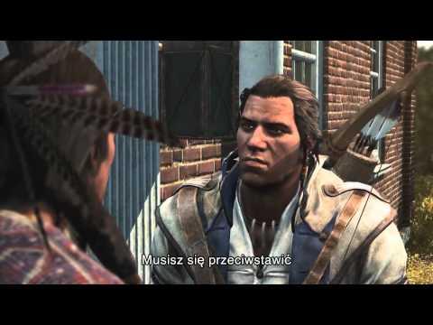 Więcej informacji na http://www.assassinscreed.com   Najnowszy zwiastun gry Assassin's Creed® III. Poznaj historię nowego bohatera i odkryj prawdę o wydarzeniach prowadzących do narodzin mistrza asasynów oraz powstania nowego kraju. Zobacz jaka jest motyw