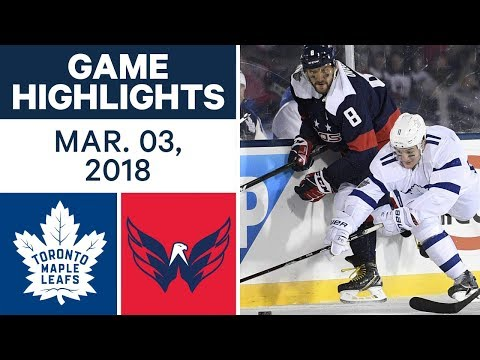 Video: NHL Game Highlights | Maple Leafs vs. Capitals - Mar. 03, 2018