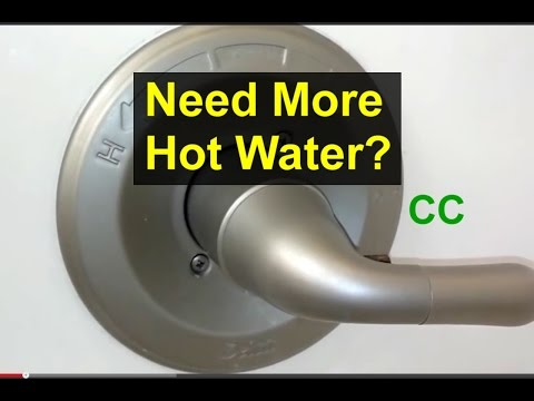 Bathroom Tub Faucet Temperature Adjustment – Home Repair Series