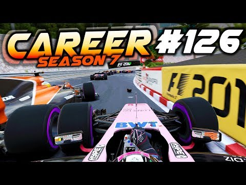 MONACO THRILLS & SPINS, ODD OUTCOME - F1 2017 Career Mode Part 126