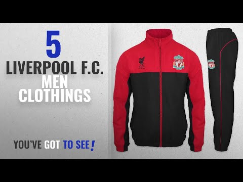 Top 10 Liverpool F.C. Men Clothings [ Winter 2018 ]: Liverpool FC Official Soccer Gift Mens Jacket &