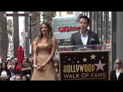 Sofia Vergara Walk of Fame Ceremony