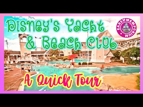 🔴Live: A Quick Tour Of Disney's Yacht Club & Beach Club Deluxe Resorts.