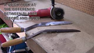 Video Hedge shear blade restoration and sharpen MP3, 3GP, MP4, WEBM, AVI, FLV Maret 2019