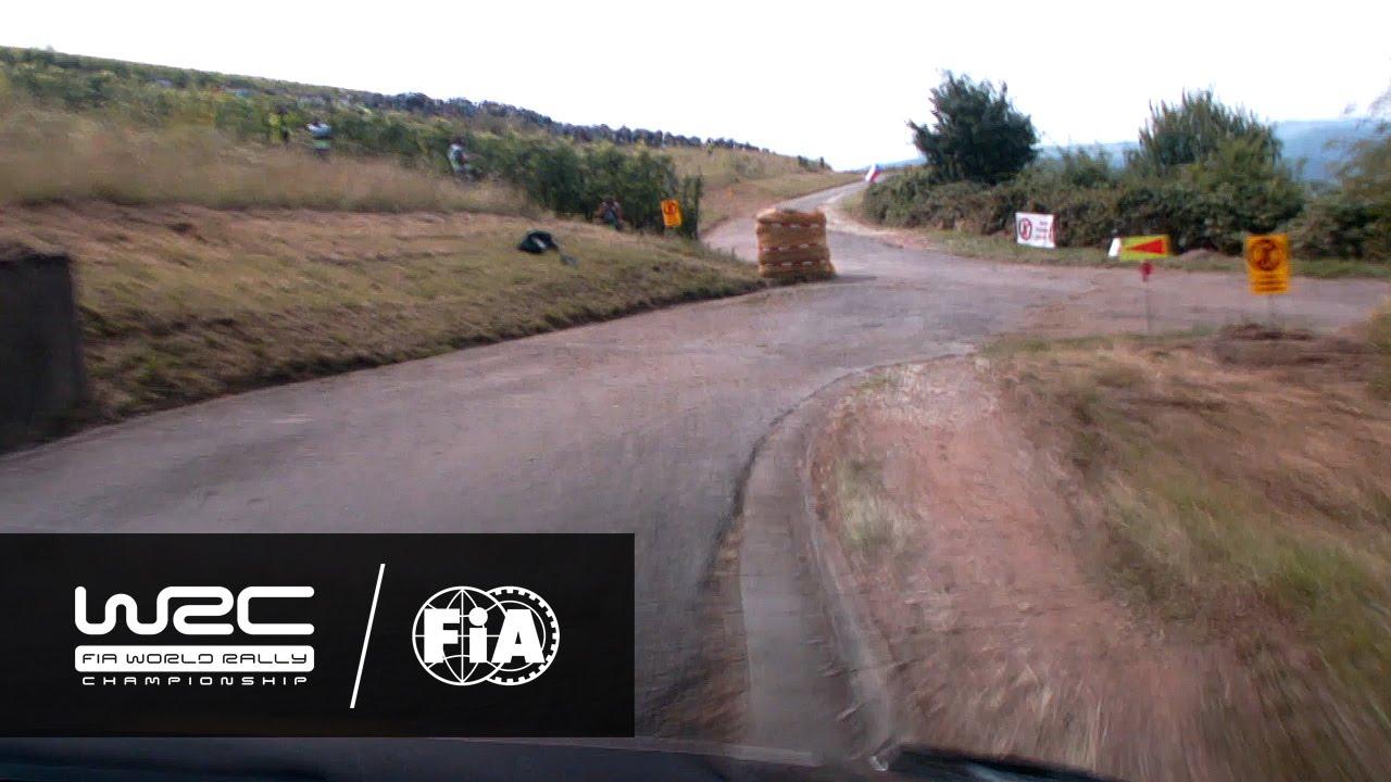 "WRC – ADAC Rallye Deutschland 2016: ONBOARD Mikkelsen ""Shakedown"""