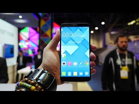 Alcatel OneTouch Hero Hands On! [CES 2014]
