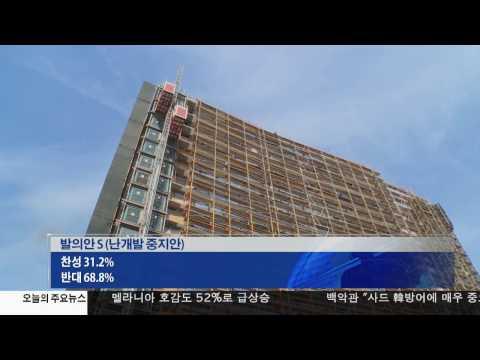 판매세 인상, '개발중지' 부결   3.08.17 KBS America News