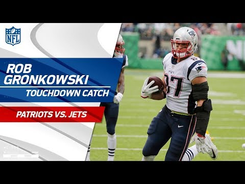 Video: Brady Connects w/ Gronk for a Huge TD to Take the Lead! | Patriots vs. Jets | NFL Wk 6 Highlights