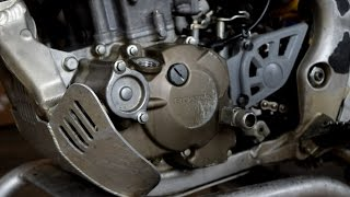 6. How to change the Engine Oil on a CRF250X