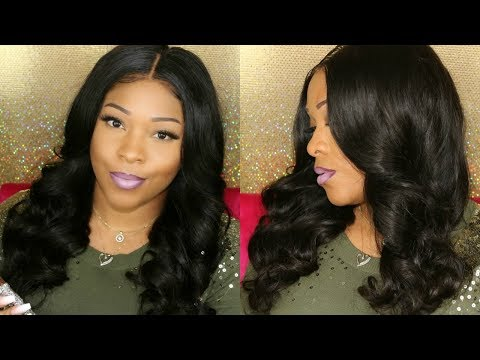 Hair color - NO HEAT Hair Tutorial: Straight To Curly  Overnight Heatless Curls  Lace Front Wig  MyFirstWig
