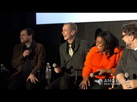 Michael Stuhlbarg & Octavia Spencer on acting with Doug Jones - THE SHAPE OF WATER