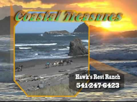 Hawk's Rest Ranch Horse Back rides on the southern Oregon coast