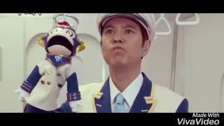 Super Sentai Vs Kamen Rider  Episodes Ressha Sentai Toqger Vs Kamen Rider Gaim   Part 4